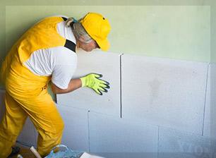 Installation de plaques de plâtre